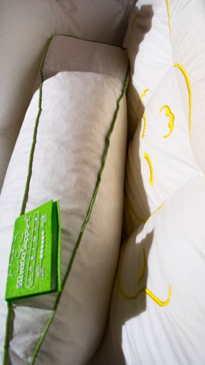 silvana support hoofdkussen groen
